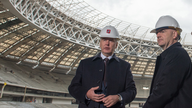 إنفانتينو يثني على تحضيرات روسيا لمونديال 2018