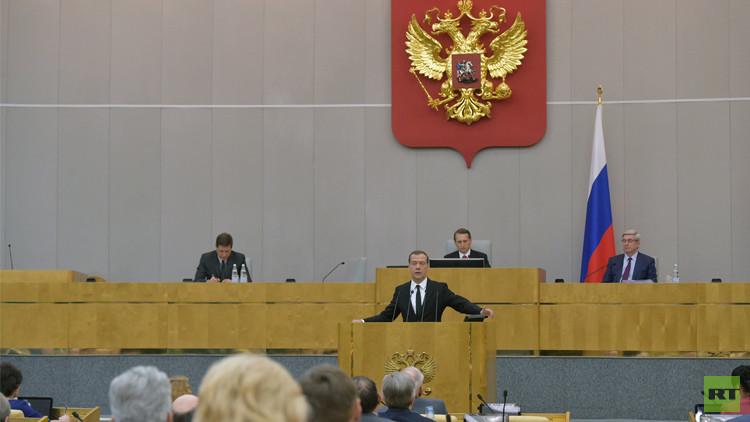 مدفيديف: الحكومة ستواصل الإصلاحات الهيكلية
