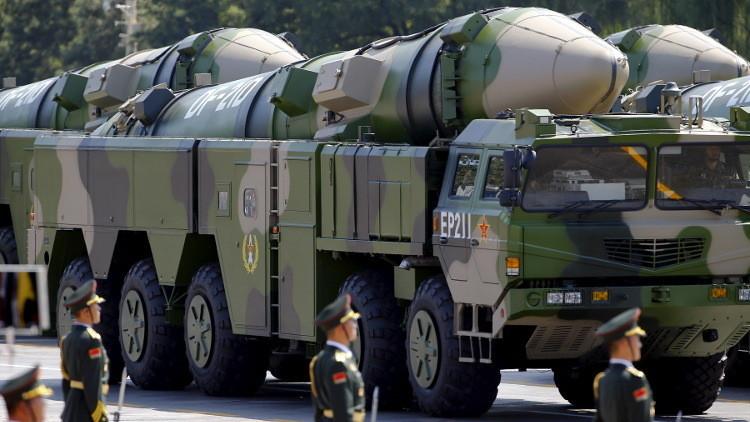 الصين تطلق صاروخا حديثا عابرا للقارات
