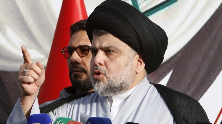 الصدر يدعو إلى الاستمرار بالاحتجاجات والتصعيد