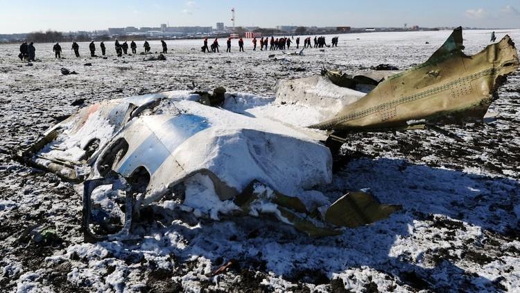 التحقيق يتواصل في كارثة طائرة فلاي دبي