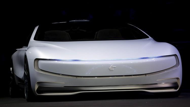 كشف النقاب عن سيارة كهربائية صينية ستنافس