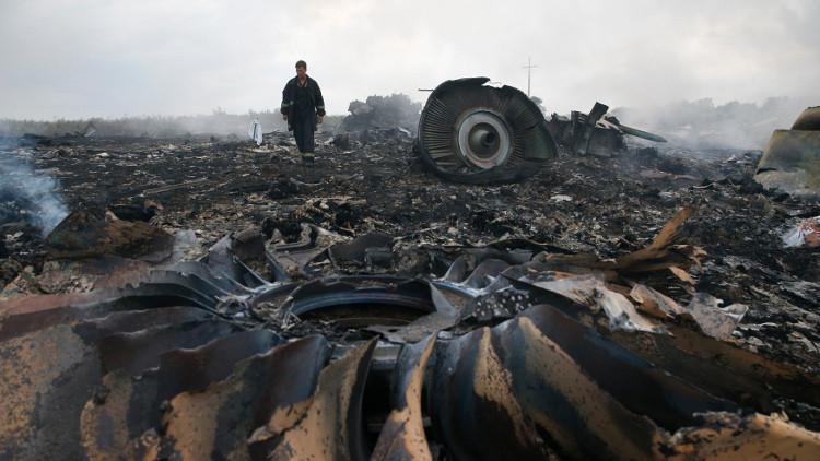 موسكو: التحقيق في تحطم الطائرة الماليزية مُسيّس