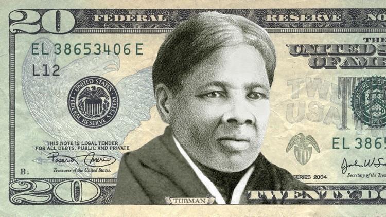 الدولار يخلد امرأة مناهضة للعبودية