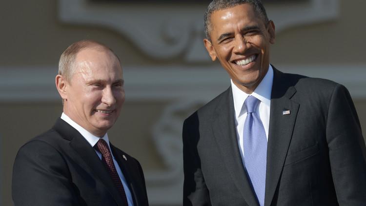أوباما: طلبت من بوتين الضغط على الأسد