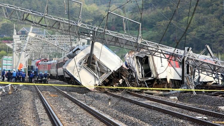 مقتل شخص وإصابة 8 بحادث قطار في كوريا الجنوبية