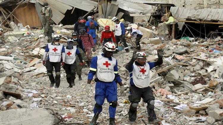 زلزال يضرب الإكوادور مجددا