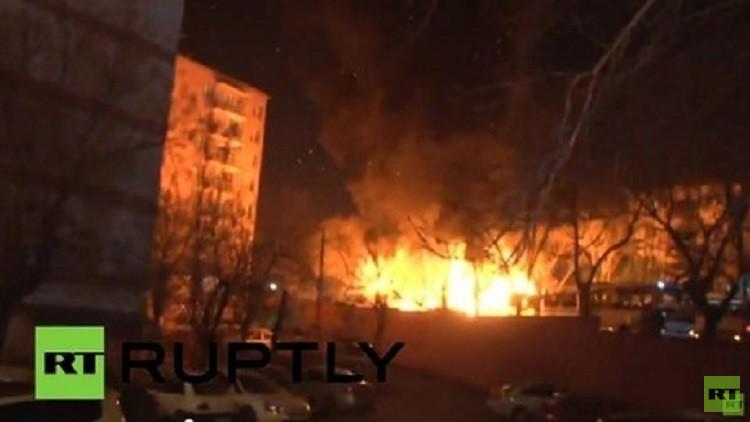 مقتل 3 جنود أتراك في انفجار استهدف قافلتهم العسكرية