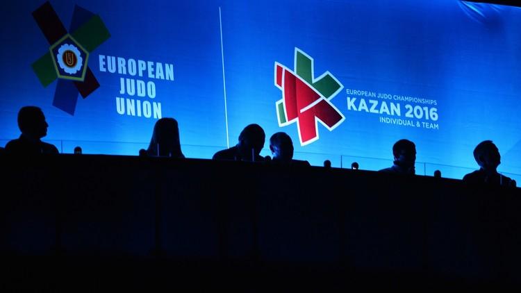 بوتين يفتتح بطولة أوروبا للجودو في قازان