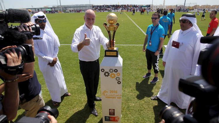 إنفانتينو: مونديال 2022 سيقام في قطر