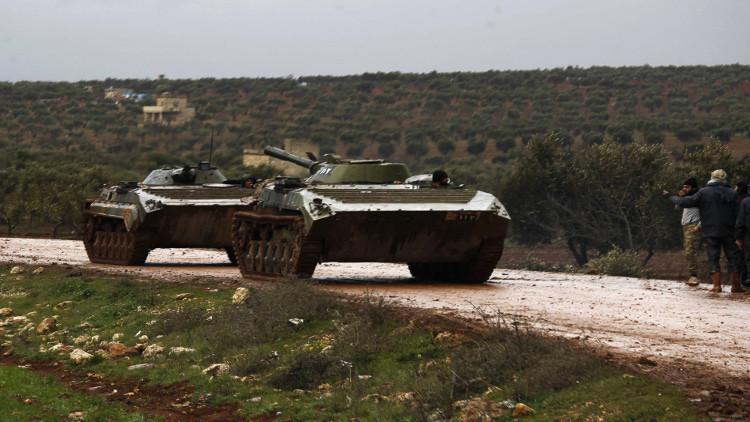 الجيش السوري يصد هجوما على مدينة حلب