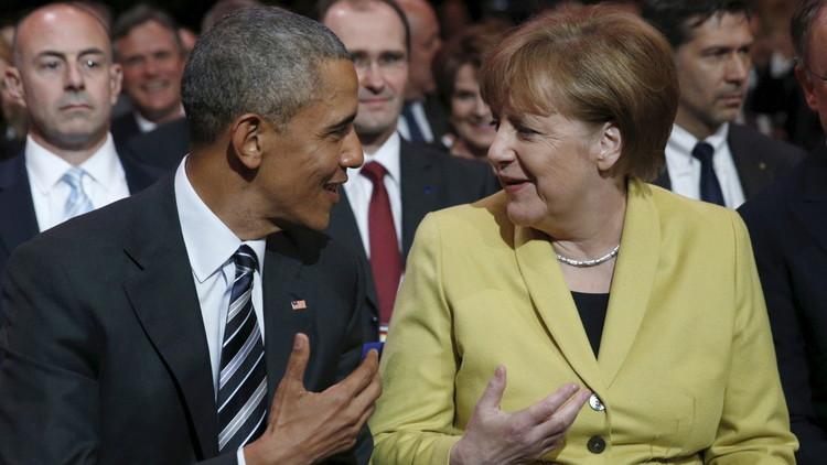 أوباما في ألمانيا للدفاع عن سياسات