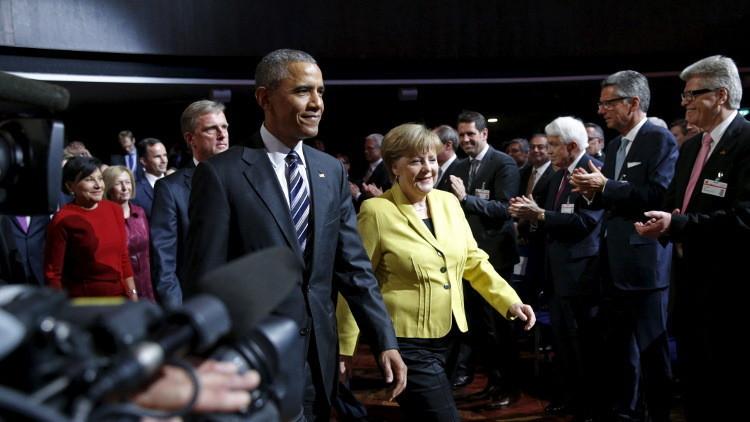 قمة أوروبية أمريكية تبحث سوريا وأزمة الهجرة