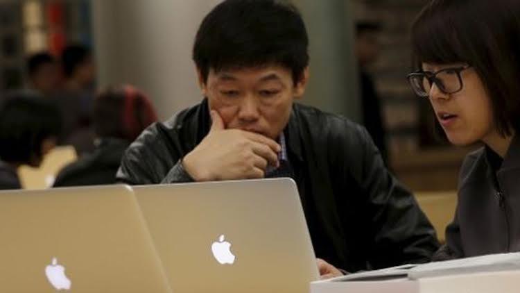 حظر اثنتين من خدمات أبل في الصين