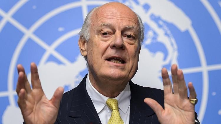 مصدر: دي ميستورا سيقدم  قريبا رؤيته حول الانتقال السياسي في سوريا