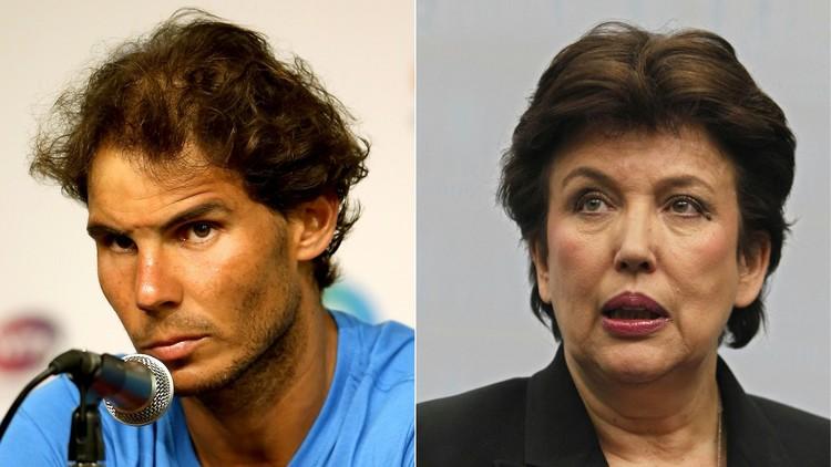 نادال سيقاضي وزيرة الرياضة الفرنسية السابقة بتهمة