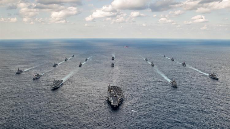 شبح الحرب العالمية الثالثة يحوم فوق المحيط الهادئ