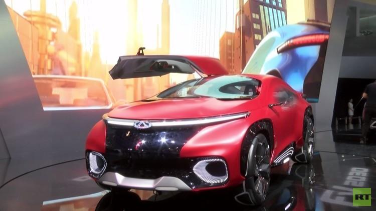 Chery الصينية تميط اللثام عن سيارة جديدة قيد التجريب