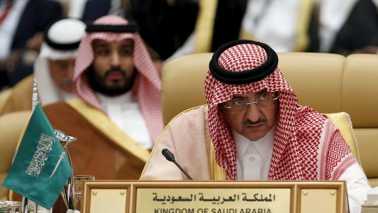 محمد بن نايف آل سعود يعلن دعمه لمحمد بن سلمان