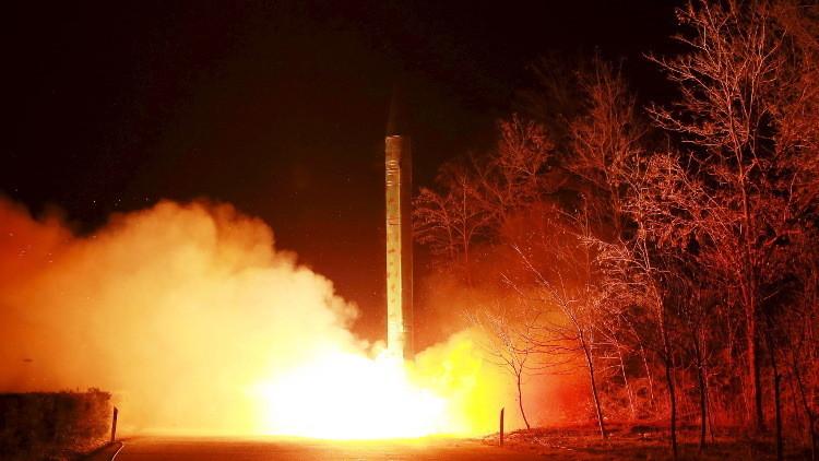 إطلاق فاشل لصاروخ بالستي في كوريا الشمالية