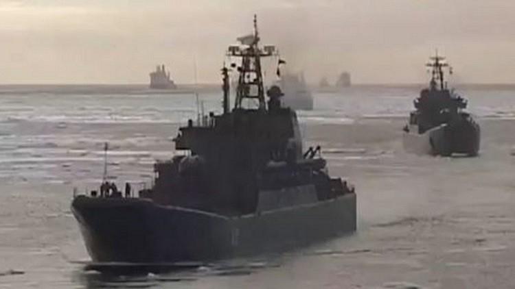مذكرة اعتقال أوكرانية بحق ضابط بحرية روسي