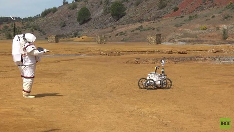ابتكار روبوتات لخدمة رواد الفضاء