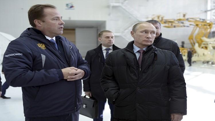 بوتين يوجه توبيخا لرئيس