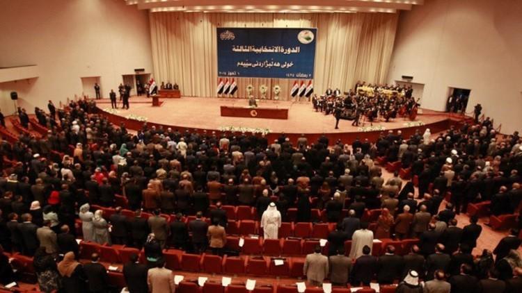 الجبوري يترأس جلسة البرلمان والمعتصمون يقاطعون