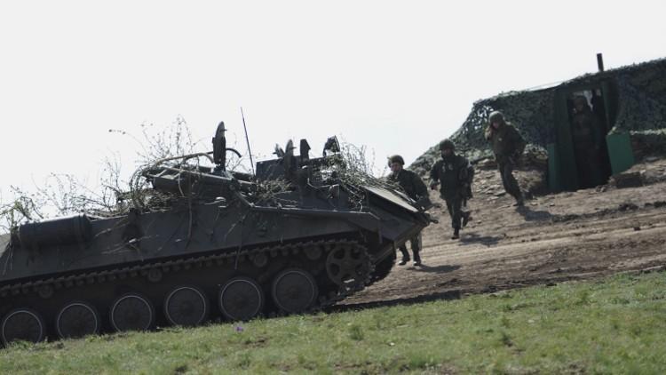 وقف إطلاق النار في دونباس بمناسبة الأعياد