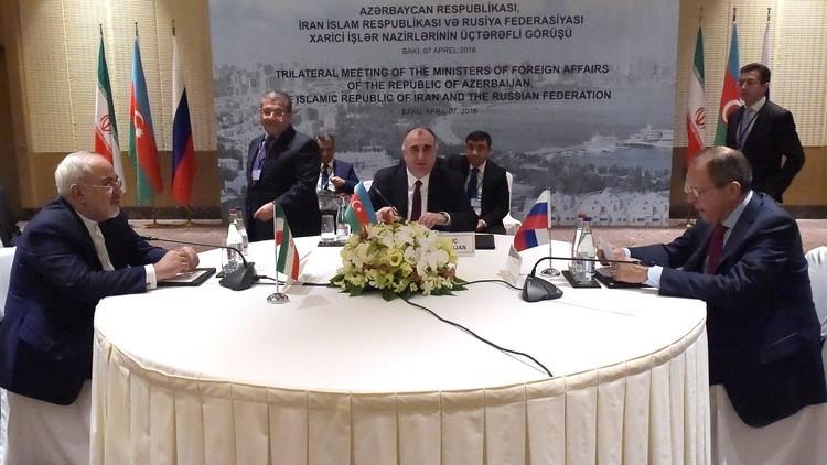 موسكو وطهران وباكو تتفق على إطلاق ممر بري يغطي سواحل قزوين