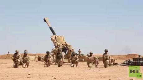 القوات العراقية تتقدم داخل مدينة هيت