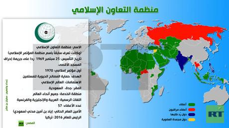 إنفوجرافيك: منظمة التعاون الإسلامي