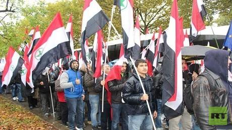 مظاهرات الأحواز في فيينا