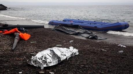 غرق نحو 500 مهاجر في المتوسط الأسبوع الماضي (صورة أرشيفية)