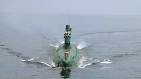 "North Korean submarine lost ""floating"""