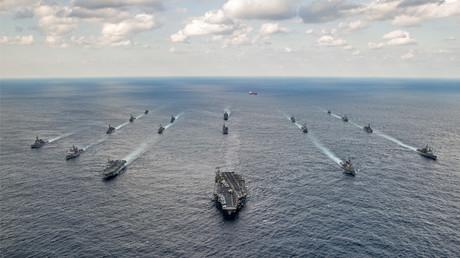 الأسطول الأمريكي في المحيط الهادئ