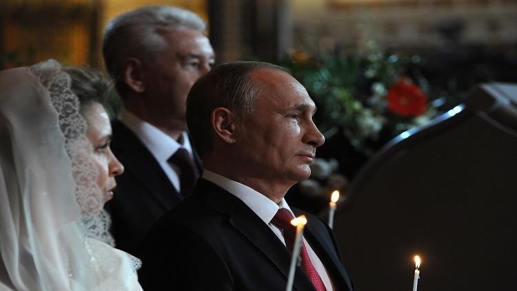 بوتين يهنئ المسيحيين الأرثوذكس في روسيا بعيد الفصح