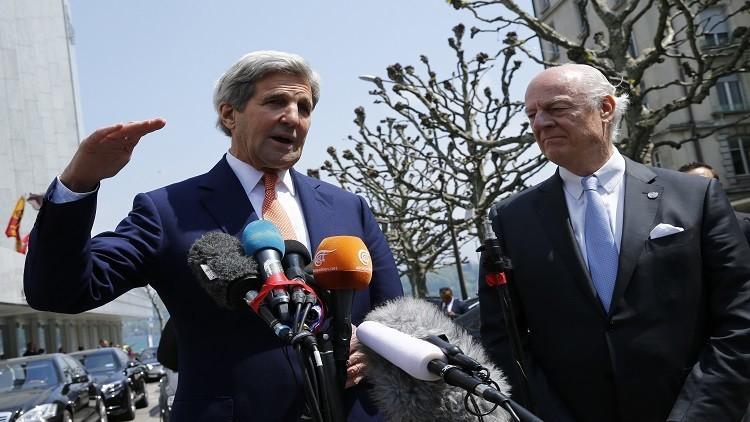 تفاهم روسي أمريكي لتثبيت وقف النار في سوريا