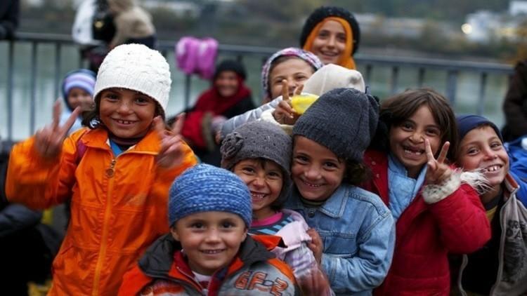 90 ألفا من أطفال اللاجئين لوحدهم في أوروبا