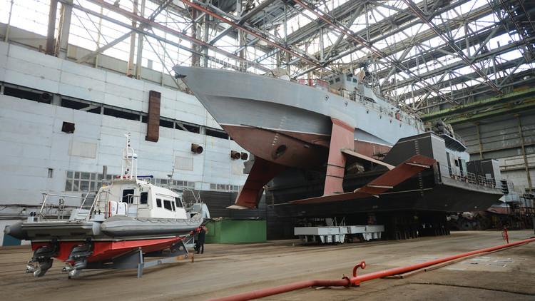 سفينة صواريخ جديدة في القرم للبحرية الروسية