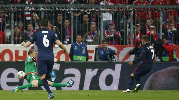 أتلتيكو مدريد إلى نهائي دوري الأبطال (فيديو)