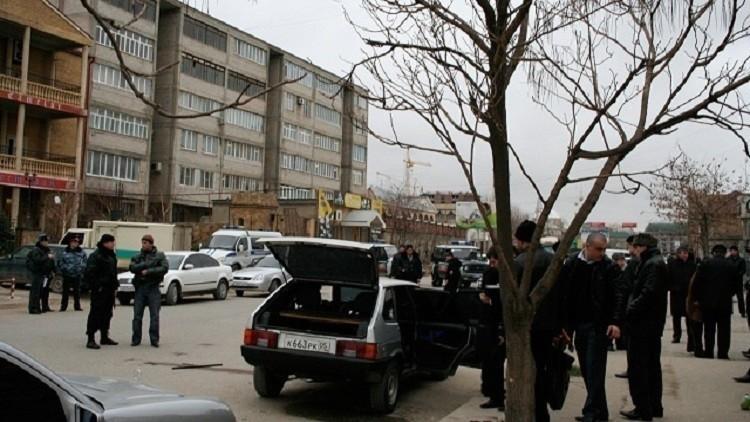 تصفية زعيم عصابة إرهابية في داغستان