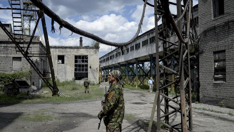 مقتل عامل بانفجار غاز بمنجم شرق أوكرانيا