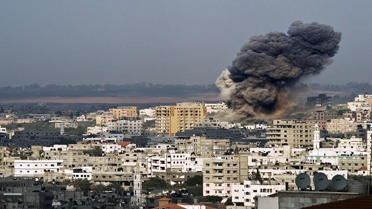 مقتل سيدة فلسطينية في قصف اسرائيلي على غزة وحماس ترد بإطلاق قذائف هاون