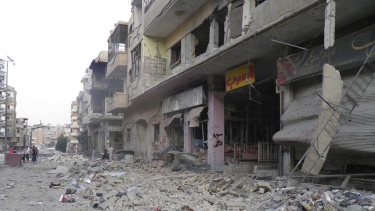 12 قتيلا وعشرات الجرحى بتفجير مزدوج في ريف حمص