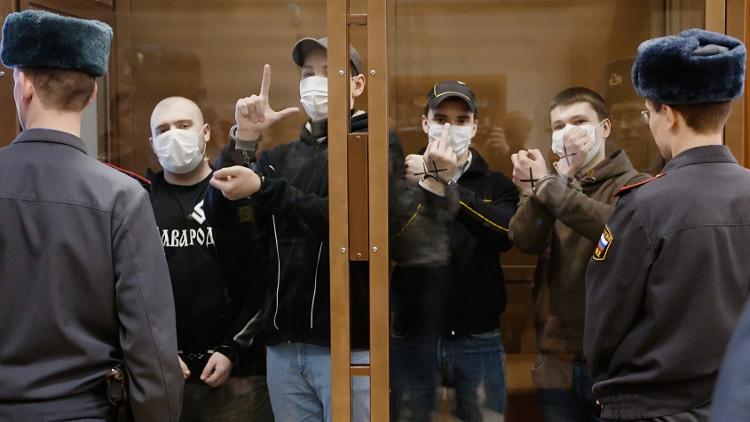 حليقو الرؤوس يظهرون في موسكو مجددا