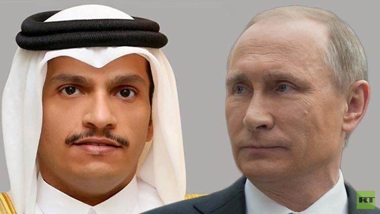 قطر تعرض على بوتين أفكارا جديدة حول سوريا