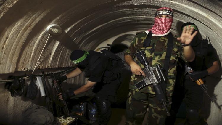 القسام تؤكد أن النفق الذي عثر عليه الجيش الإسرائيلي ليس جديدا