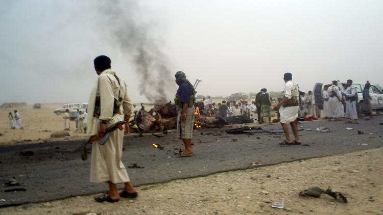 اليمن.. مقتل 7 وإصابة 15 آخرين في تفجير انتحاري بمأرب