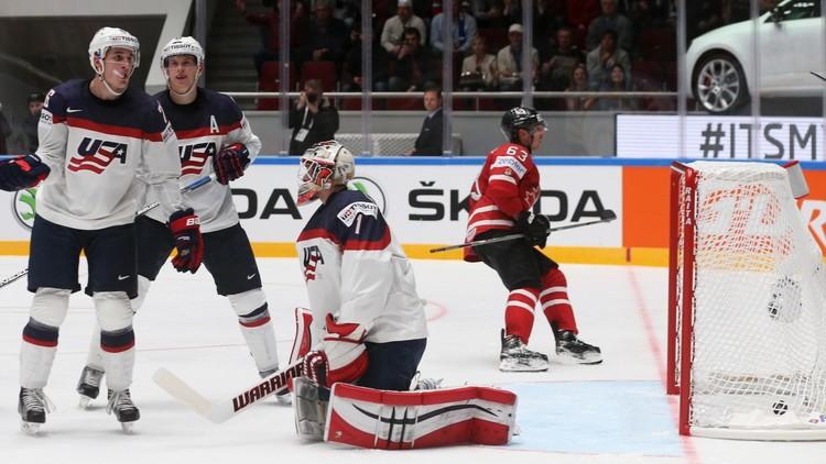 كندا تكتسح أمريكا في مونديال الهوكي 2016 -فيديو